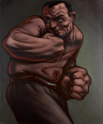 Peter Howson (British, born 1958) The Boxer II