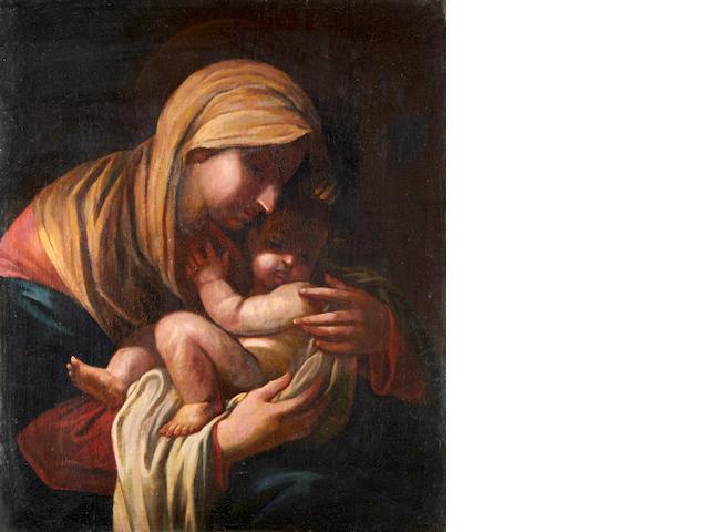 Italian School, 18th Century The Madonna and Child
