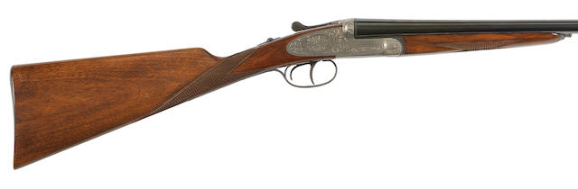 A 20-bore (2¾in) sidelock ejector gun by Ugartechea, no. 168842 Retailed by Parker-Hale