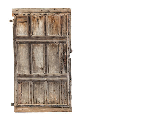 17th century oak door