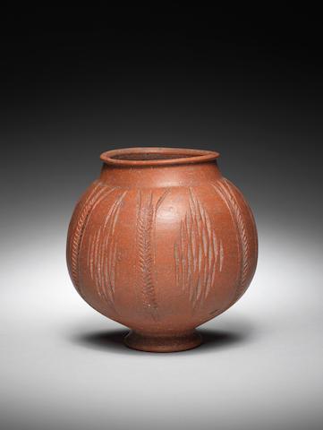 A Roman Samian Ware vessel
