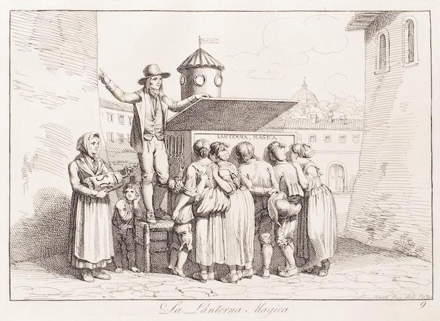 PINELLI (BARTOLOMEO) Nuova raccolta di cinquanti costumi pittoreschi, 1816