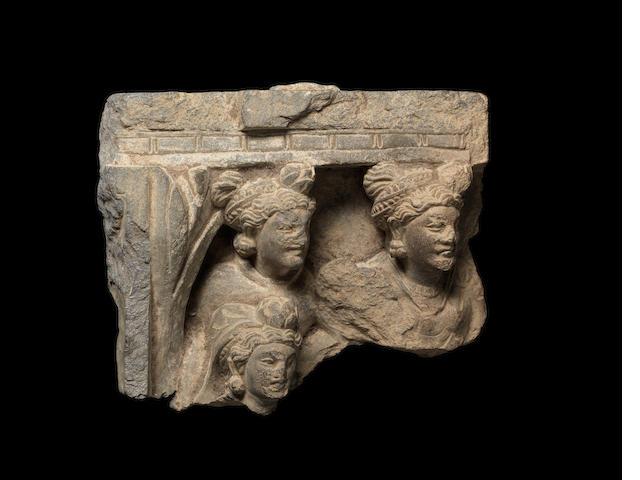 A Gandharan architectural fragment