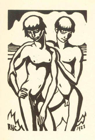 CHUBB (RALPH) Woodcuts, LIMITED TO 200 COPIES, 1928; another copy; and 2 others (4)