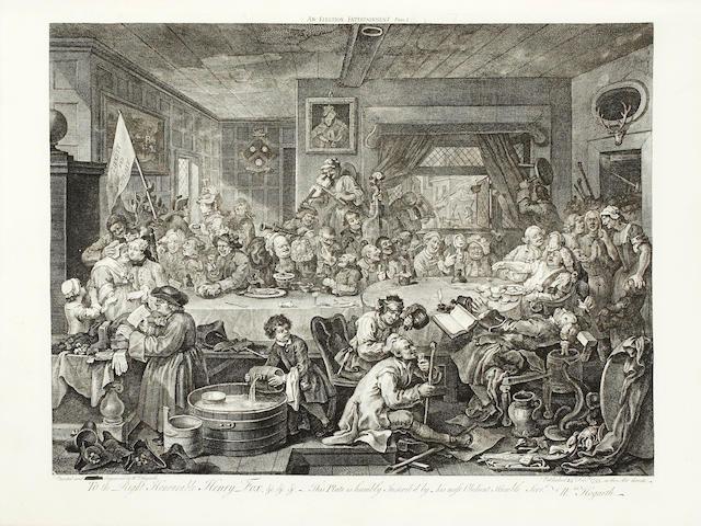 HOGARTH (WILLIAM) [A Catalogue of the Original Works, c.1803]