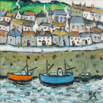 Joan Gillchrest (British, 1918-2008) Cornish harbour