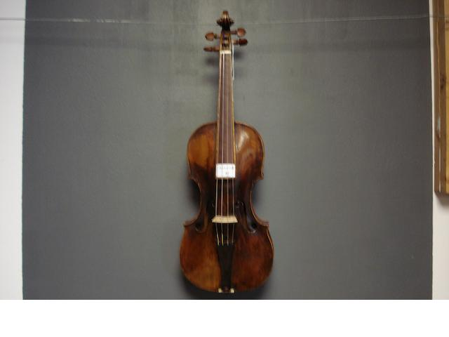 A Mittenwald Violin attributed to Kloz circa 1760 (3)