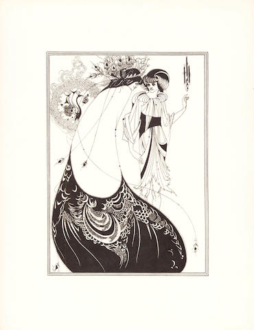 "WILDE (OSCAR) A Portfolio of Aubrey Beardsley's Drawings Illustrating ""Salome"", [1920]"