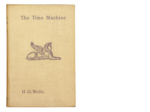 WELLS (H.G.) The Time Machine - An Invention, FIRST EDITION, 1895