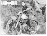 The pre-production,1948 Norton 500T Trials Motorcycle