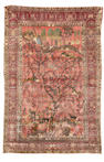 A Feraghan silk rug, West Persia, circa 1890, 6 ft 8 in x 4 ft 5 in (204 x 135 cm) very good condition