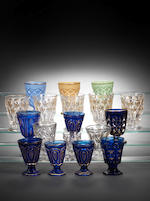A collection of Ottoman gilt decorated Glasses Turkey, 19th - 20th Century(57)
