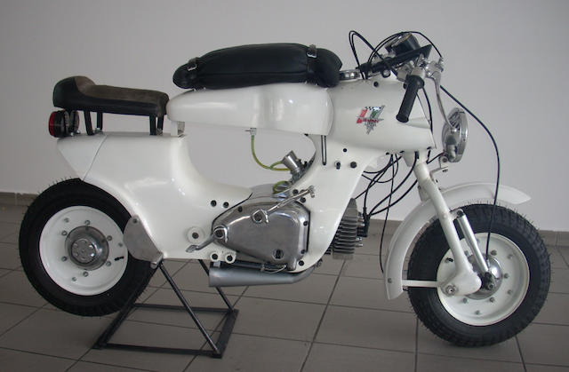 1957 Rumi 125cc Bol d'Or Frame no. 27653 Engine no. 4427