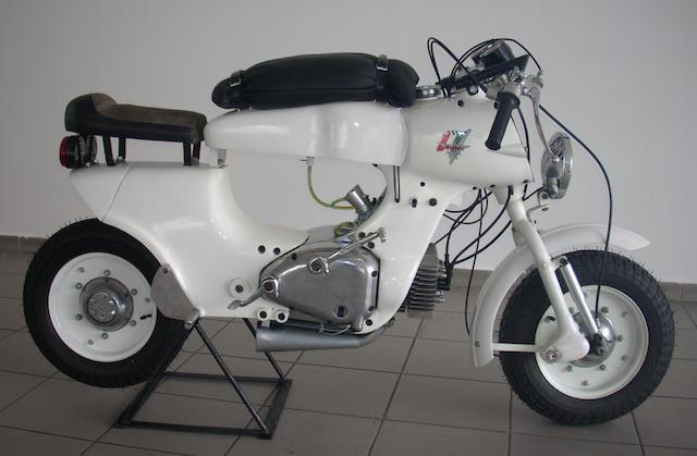 1957 Rumi 125cc Bol d'Or Frame no. 27653 Engine no. 4427