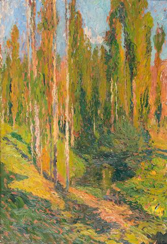 Henri Jean Guillaume Martin (French, 1860-1943) Sous-bois, c. 1905