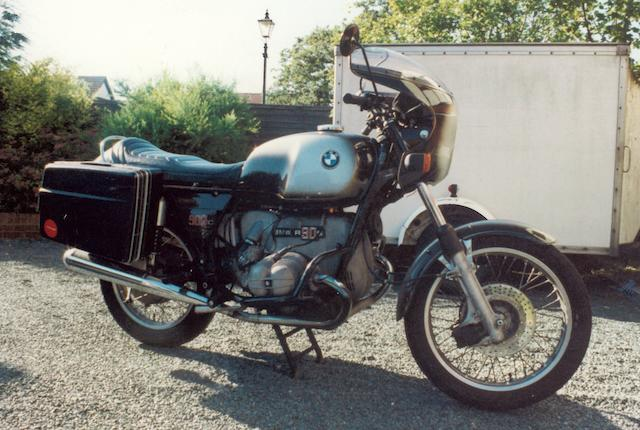 Property of a deceased's estate,1976 BMW 898cc R90S Frame no. 4093631 Engine no. 4093631