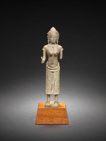 A Khmer bronze of Uma Cambodia, 12th/ 13th Century