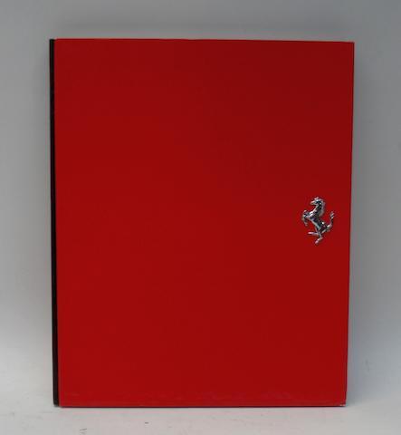 A Ferrari F50 deluxe presentation book,