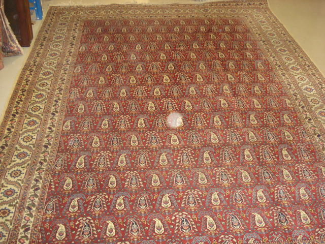 A Tabriz carpet, North West Persia, 333cm x 234cm