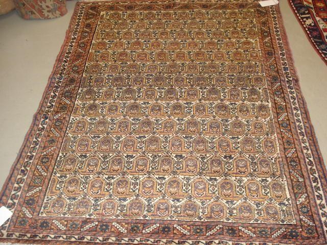 An Afshar rug, South West Persia, 195cm x 147cm