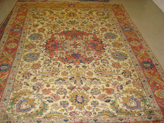 A Tabriz carpet, North West Persia, 306cm x 222cm