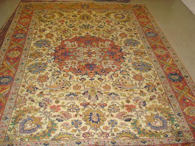 A Tabriz carpet, North West Persia, 306cm x 222cm