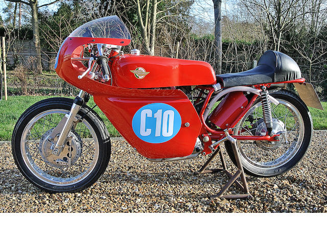 c.1971 Ducati 350cc Racing Motorcycle Engine no. 12409
