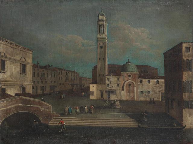 Venetian School, 18th Century Campo Santi Apostoli, Venice