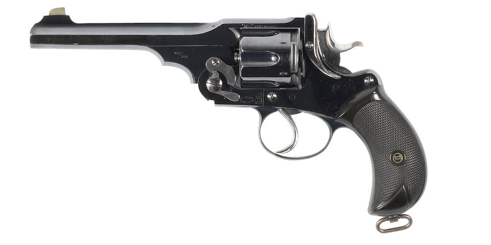 "An exceptional .450/.455 '""WG"" Army Model' revolver by P. Webley & Son, no. 20013"