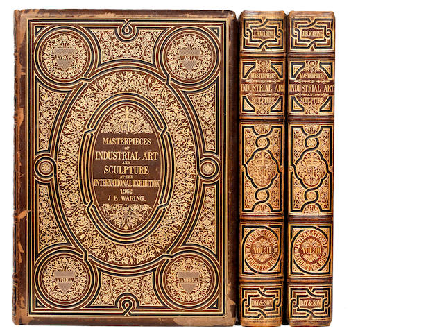 WARING (JOHN BURNLEY) Masterpieces of Industrial Art & Sculpture at the International Exhibition, 1862, 3 vol., good set, 1863
