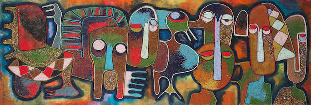 Chief Jimoh Buraimoh (Nigerian, born 1943) Faces and creatures
