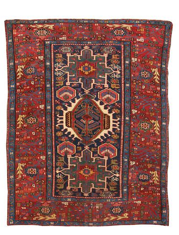 A Karaja rug, North West Persia, circa 1900, 6 ft 1 in  x 4 ft 7 in (185 x 140 cm) some minor wear