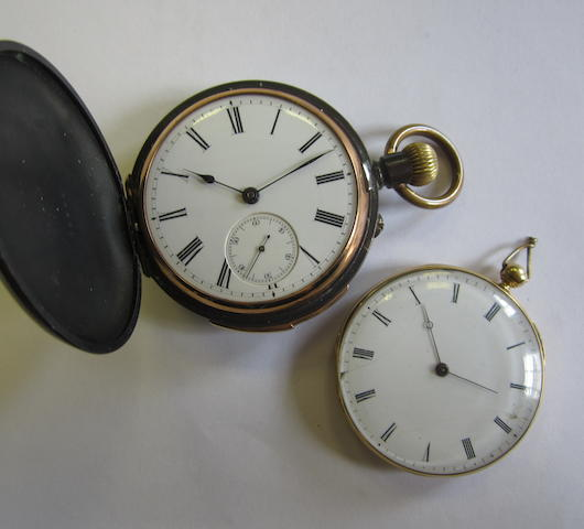 A lot of two pocket watches