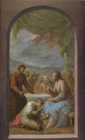 Francesco Sleter??? Christ in the House of Simon the Pharisee,