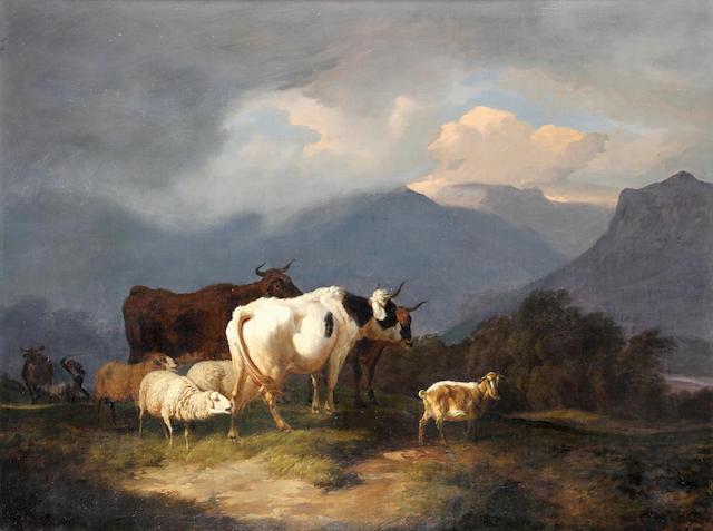 Robert Eberle (German, 1815-1860) Before the Tempest