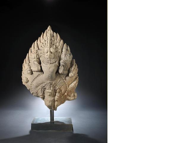 A Banteai Kdei Garuda Finial Cambodia, 12th Century
