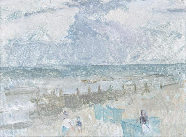 Peter Greenham (British, 1909-1992) Sea shore, Norfolk