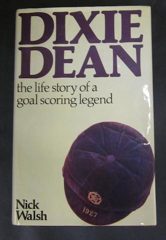 Dixie Dean hand signed autobiography