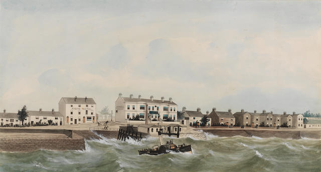 G. W. Stevens (British) The old seacombe ferry, 1870