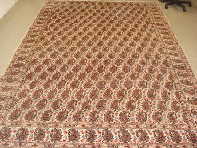 A Kirman carpet, South East Persia, 348cm x 245cm