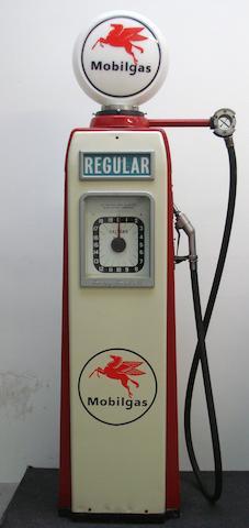 An Avery-Hardoll 'clock face' electric petrol pump,