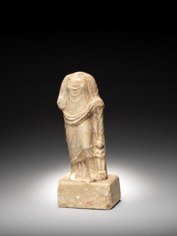 A Roman marble figure of Aphrodite
