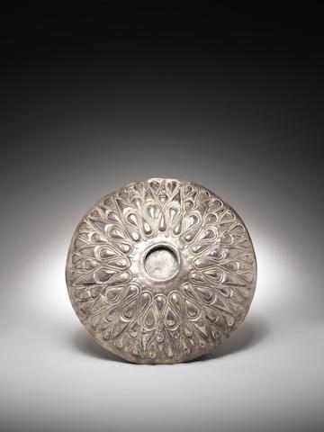 A large Achaemenid silver phiale mesomphalos