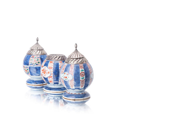 Three Imari vessels 18th/19th century