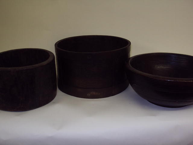A small collection of treen