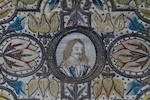 An early 17th century needlework picture, probably depicting Charles I