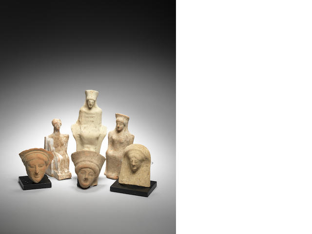 Six Greek terracottas 6