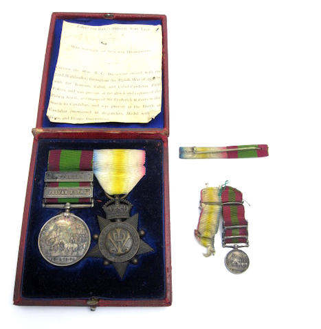 A Pair of medals to Captain the Honourable R.C.Drummond, 72nd Foot,