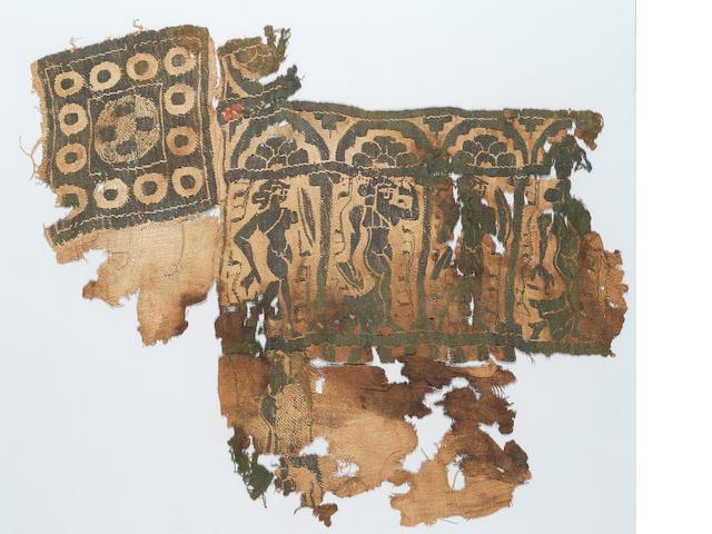 A Coptic textile fragment