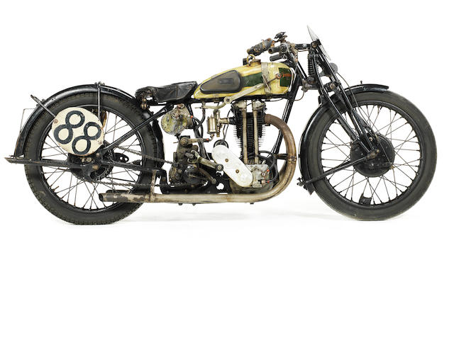 1927 Triumph Works TT Racing Motorcycle